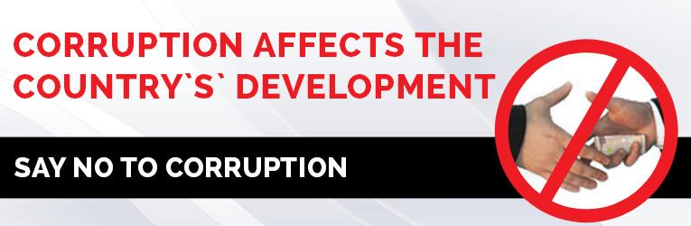 Corruption Affects The Country's Development